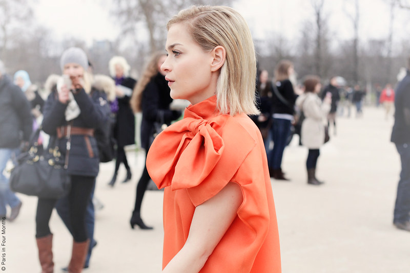 Leigh Lezark at Paris Fashion Week FW13 by Carin Olsson (Paris in Four Months)