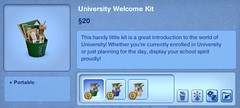 University Welcome Kit