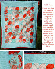 Flirt Crinkly Finish Quilt