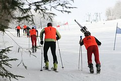 SKIALPSPRINT 2013 - otevřený závod v obřím slalomu a výstup do svahu