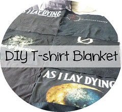 DIY T-shirt Blanket