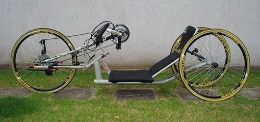 Handbike ou Handcycle, bicicleta inclusiva