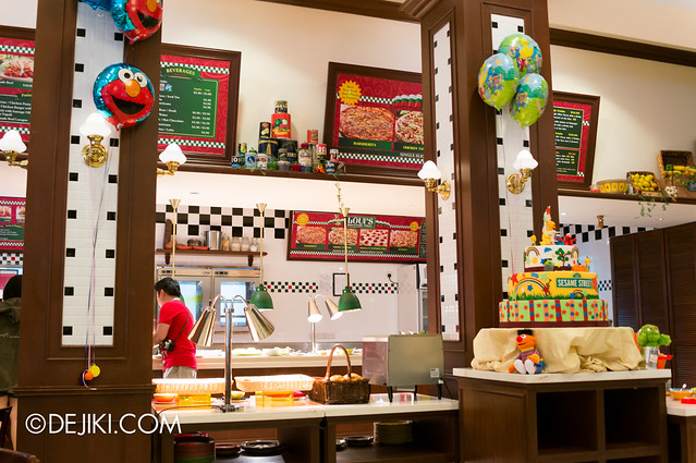 Sesame Street Character Breakfast at Universal Studios Singapore - Overview