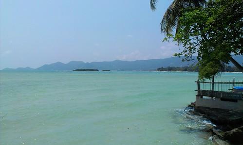 Koh Samui Chaweng Beach north end サムイ島 チャウエンビーチ