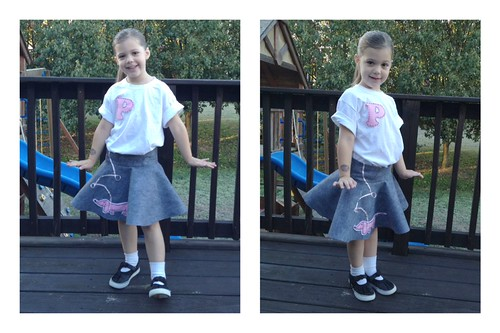 Paige on 50's Day