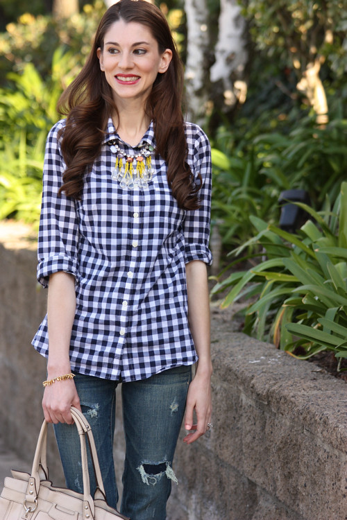 Gingham Casual4