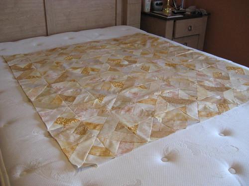 Pralines n Cream crazy quilt