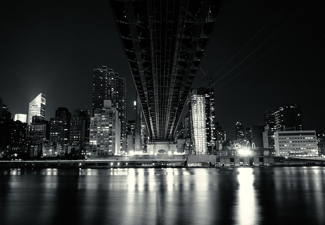 Under the Ed Koch Queensboro Bridge - New York City
