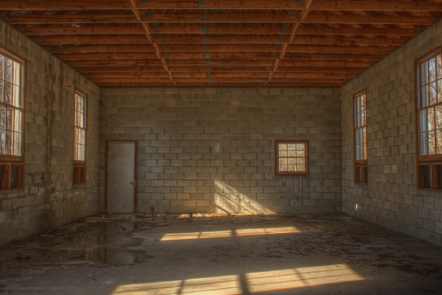5:03 PM: Mount Airy Presbyterian Church Unfinished Interior