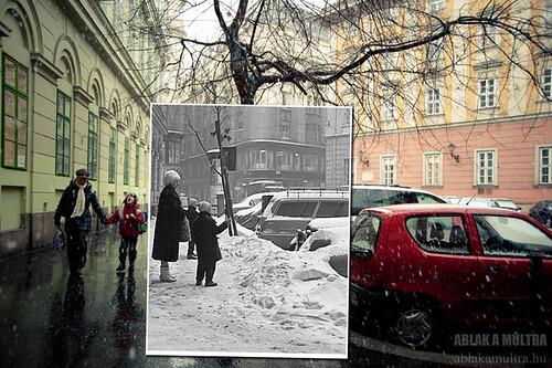 Budapest, V. Kamermayer Károly tér, szemben a Pilvax köz és a Városház utca sarok fortepan_22586