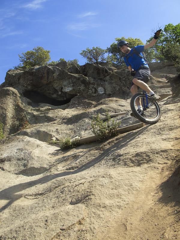 Josh on Cave Trail