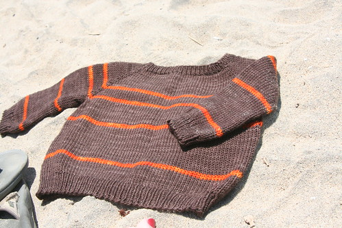 Hang Ten Pullover in Socks That Rock Mediumweight and Miss Babs Yummy Sock