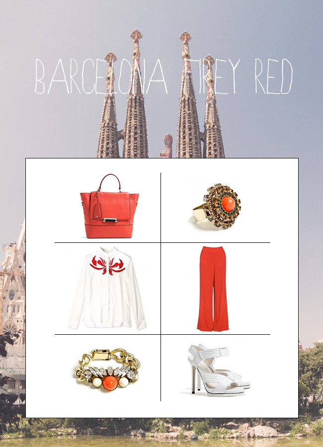 my-wardrobe travel outfit barcelona