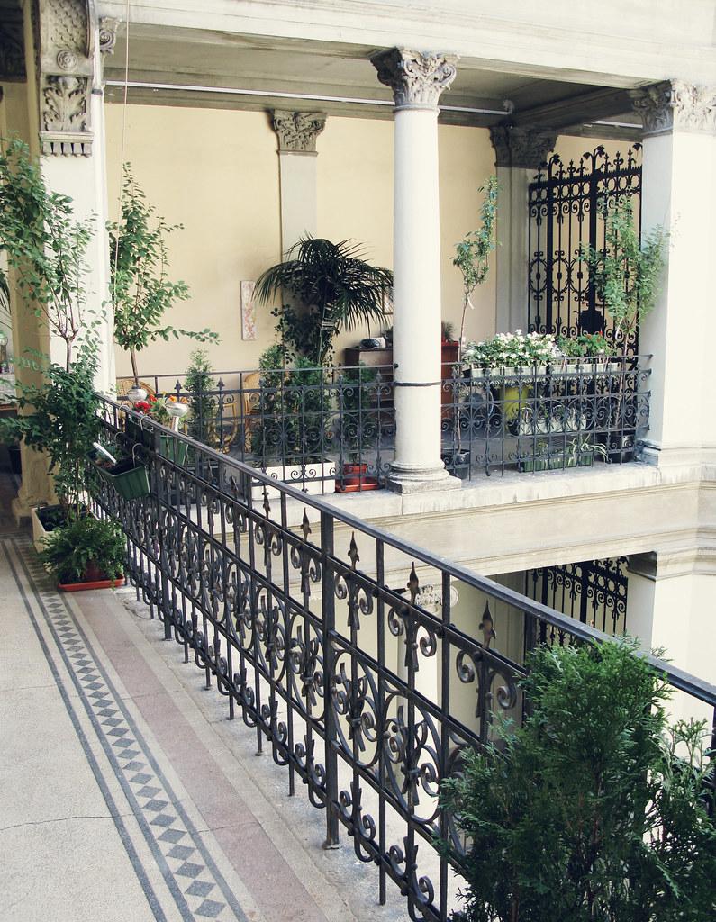 lavender circus balcony, budapest