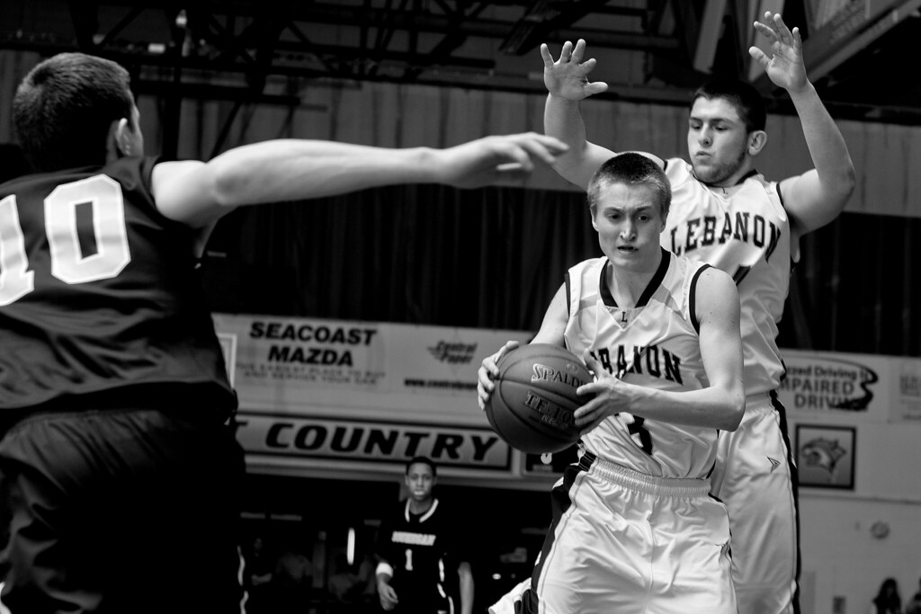 Lebanon vs. Souhegan boys basketball semifinal game