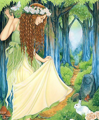 Ostara's Maiden by artoftheempath
