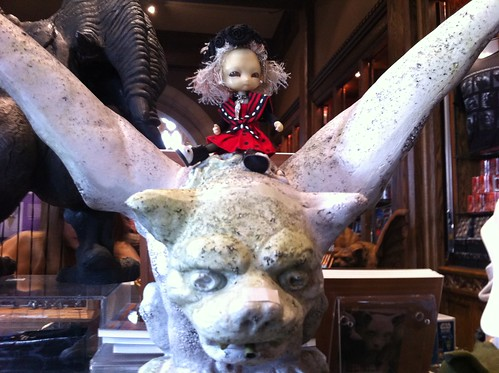 TiGGy Rides CaTGoYLe! by DollZWize