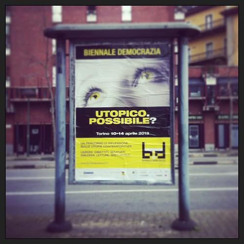 Dal 10 al 14 aprile a #Torino torna @BiennaleDemocr. Ce n'è bisogno, ora più che mai.
