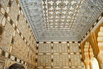 Amer Fort - Seesh Mahal