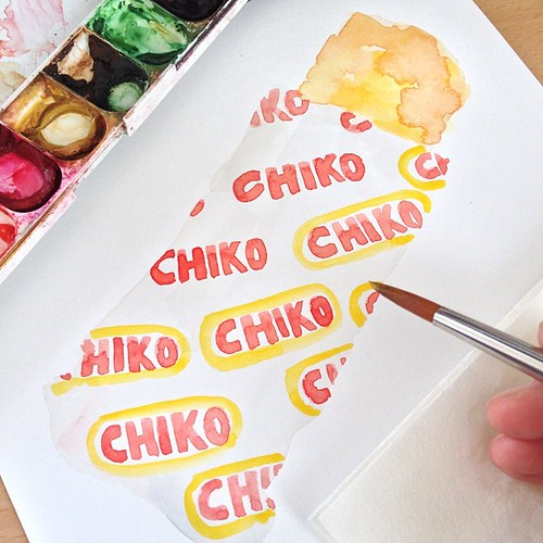 Chiko Roll In progress