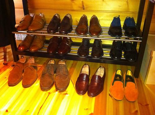 Osa kenkäkokoelmastani toukokuussa 2013