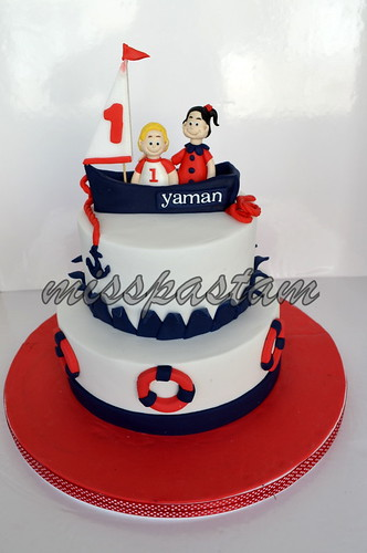 sailor cake by MİSSPASTAM