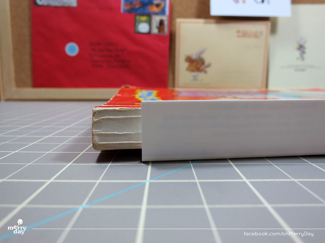 diy making book jacket from toothpaste boxes03