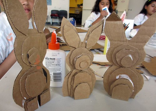 making rabbits!