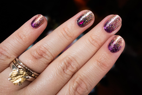 Glitter Gradient Nail Art Tutorial