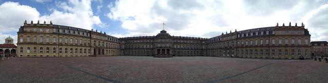 Neues Schloss Panorama