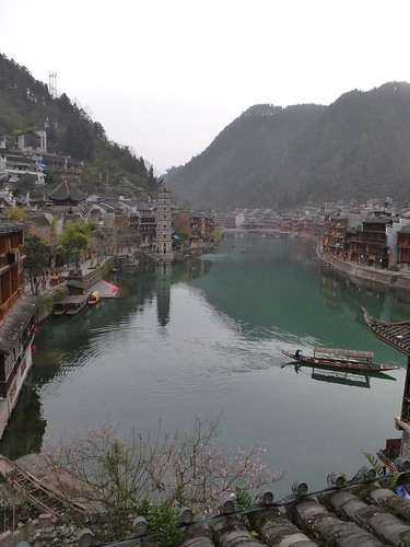 Hunan13-Fenghuang-Ville-Rive Nord (5)