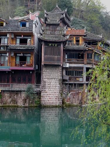 Hunan13-Fenghuang-Ville-Rive Nord (49)