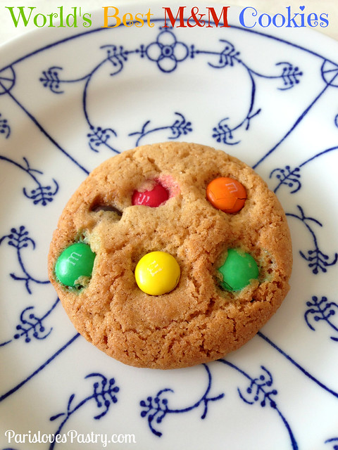 World's Best M&M Cookies