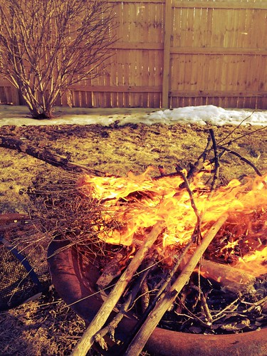 Burned stuff. :)