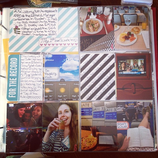 #ProjectLife I refuse to quit you. (Working on old 2012 layouts!)
