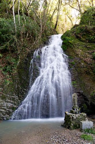 龍泉の滝雄滝 2013.4.7-2