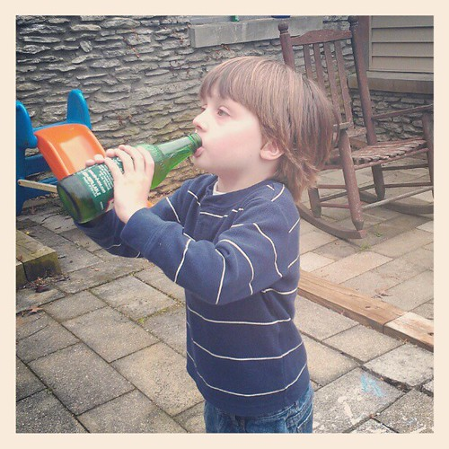 A boy's first Ale-8-One