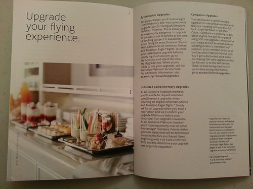 New 2013 AAdvantage Executive Platinum Welcome Kit
