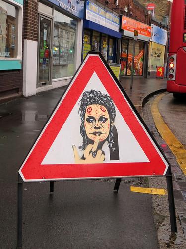 Gee Street Art, What If Gallery, Dartford - April 2013