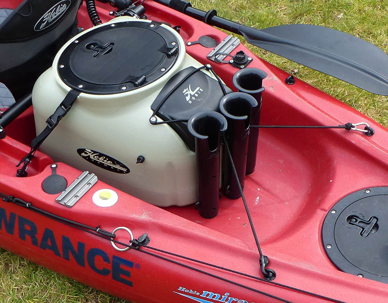Rigging the outback for fishing whitby sea anglers forums for Fishing kayak with livewell