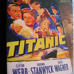 Titanic DVD 1953. USA.