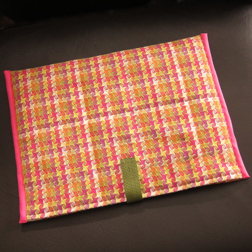 just crafty enough project quilted laptop sleeve