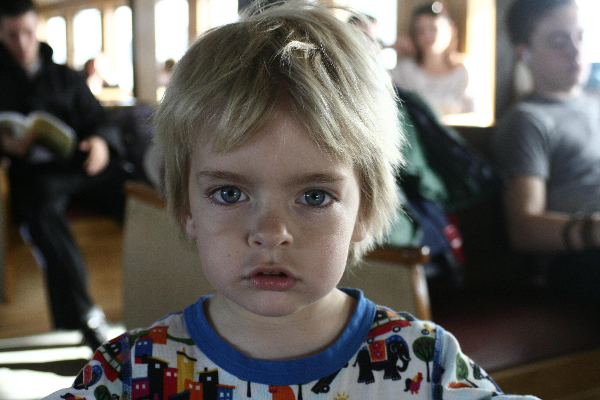 Anton on the vapur.