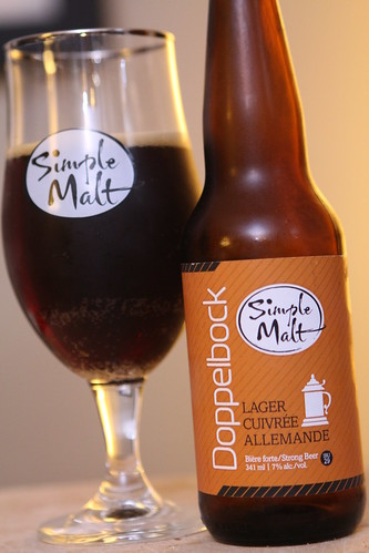 Brasseurs Illimites Simple Malt Dopplebock