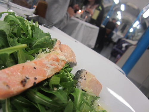 Salmon & rocket  on Tube