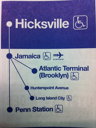 The train to Hicksville