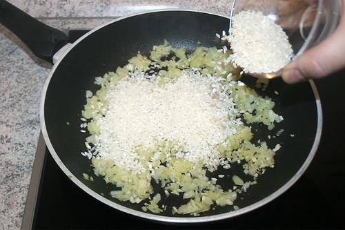 21 - Reis dazu geben / Add rice