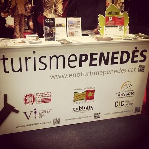 #turisme #enoturisme #Penedès @enopenedes @vilafrancatur @tsubirats @tsantsadurni @siturismecat @fira_barcelona