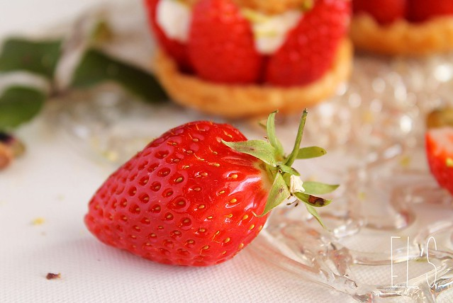 EChoux à la fraise