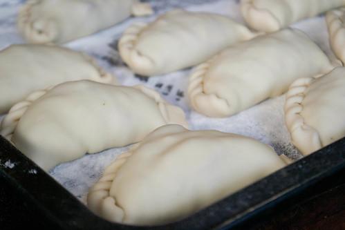 empanadas before baking